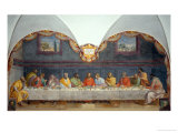 Last Supper Giclee Print by Alessandro Allori