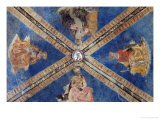 Ceiling of the Main Chapel Giclee Print by Alesso Baldovinetti