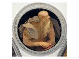 Saint John the Evangelist Giclée-tryk af Jacopo da Carucci Pontormo