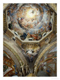 View of the Dome and of the Pendentive with Saint Hilary Giclee Print by Correggio