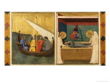 Scenes from the Story of the Holy Girdle Giclee Print by Bernardo Daddi