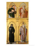 Saint Luke Polyptych Giclee Print by Andrea Mantegna