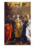 Saint Cecilia Giclée-Druck von Guido Reni