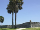 Castillo San Marcos, Spanish Colonial Fort in Saint Augustine, Florida Photographic Print