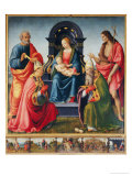 Madonna and Child with Saints Giclee Print by Ridolfo Ghirlandaio