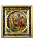 Contest Between Apollo and Pan Judged by Midas Giclee Print by Giovanni Battista Cima Da Conegliano