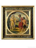 Contest Between Apollo and Pan Judged by Midas Giclee Print by Giovanni Battista Cima Da Conegliano