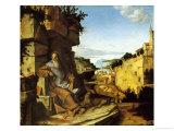 Saint Jerome Giclee Print by Bartolomeo Montagna
