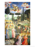 Procession of the Magi: Angels in Adoration Giclee Print by Benozzo Gozzoli