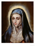 The Virgin Giclee Print by  El Greco