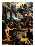 Assumption of the Virgin Giclee Print by Annibale Carracci