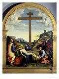 Deposition with Joseph of Arimathea Giclee Print by Francesco Francia