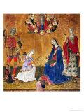 Annunciation Giclee Print by  Benvenuto di Giovanni