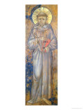 Saint Francis Giclée-tryk af Cimabue