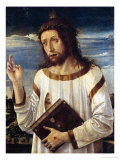 Christ Giving His Blessing Giclee Print by Giovanni Bellini