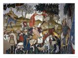 Gallant Scene Giclee Print by Giacomo Jaquerio