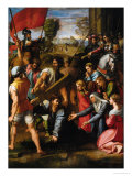 Calvary (fresco) Reproduction proc&#233;d&#233; gicl&#233;e par Raphael 