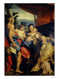 Madonna of St. Jerome Giclee Print by  Correggio