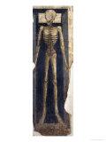 Skelet Giclée-tryk af Neri Di Bicci