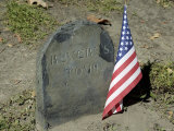 Paul Revere's Grave, Old Granary Burying Ground, Boston, Massachusetts Photographic Print