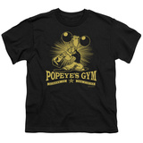 Youth: Popeye - Popeye's Gym T-shirts
