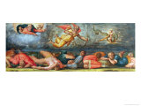 The Plague Fells on the Israel People Giclee Print by Giorgio Vasari