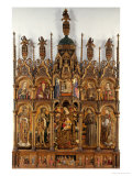 Polyptych Giclee Print by Carlo Crivelli
