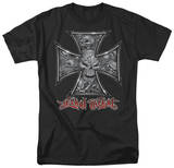 Lethal Threat - Skull Cross T-Shirt