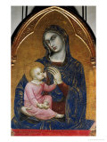 Madonna and Child Giclee Print by  Barnaba Da Modena