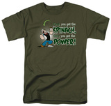 Popeye - Spinach Power Shirts