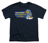 Youth: Garfield - Contradiction in Terms T-shirts