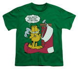 Youth: Garfield - Wish Big T-shirts
