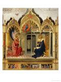 Annunciation Giclée-tryk af Lorenzo Monaco