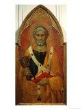 Saint Peter Giclée-tryk af Lippo Memmi