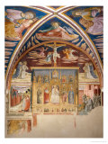Frescoes in the Chapel of St. Jerom Giclee Print by Benozzo Gozzoli