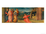 David Taking from Aravna the Place to Buy an Altar Giclee Print by Giorgio Vasari