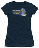 Juniors: Garfield - Contradiction in Terms Shirt
