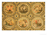 Coffered Ceiling Giclee Print by Bernardino di Betto Pinturicchio