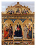 Franciscans Altarpiece Giclee Print by Piermatteo D'amelia