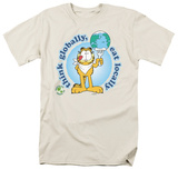 Garfield - Think Globally T-shirts