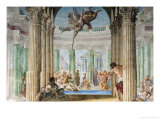 The Piscina Probatica Giclee Print by Giovanni Lanfranco