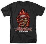 Lethal Threat - Flaming Clown Shirts