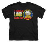 Youth: Garfield - I Only Look Harmless T-shirts