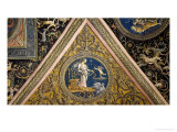 Frescoes on the Ceiling Giclee Print by Pietro Perugino