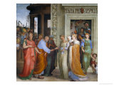 The Marriage of the Virgin Giclee Print by Domenico Beccafumi