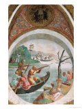 Medallion with River God Giclee Print by Giulio Romano
