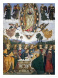 Assumption of the Virgin Giclee Print by Bernardino di Betto Pinturicchio
