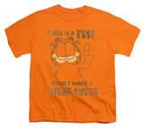 Youth: Garfield - Cheat Sheet T-shirts