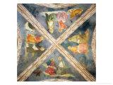 Volta Della Cappella Branda Con Evangelisti E Padri Della Chiesa Giclee Print by Tommaso Masolino Da Panicale