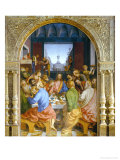 Last Supper Giclee Print by Gaudenzio Ferrari
